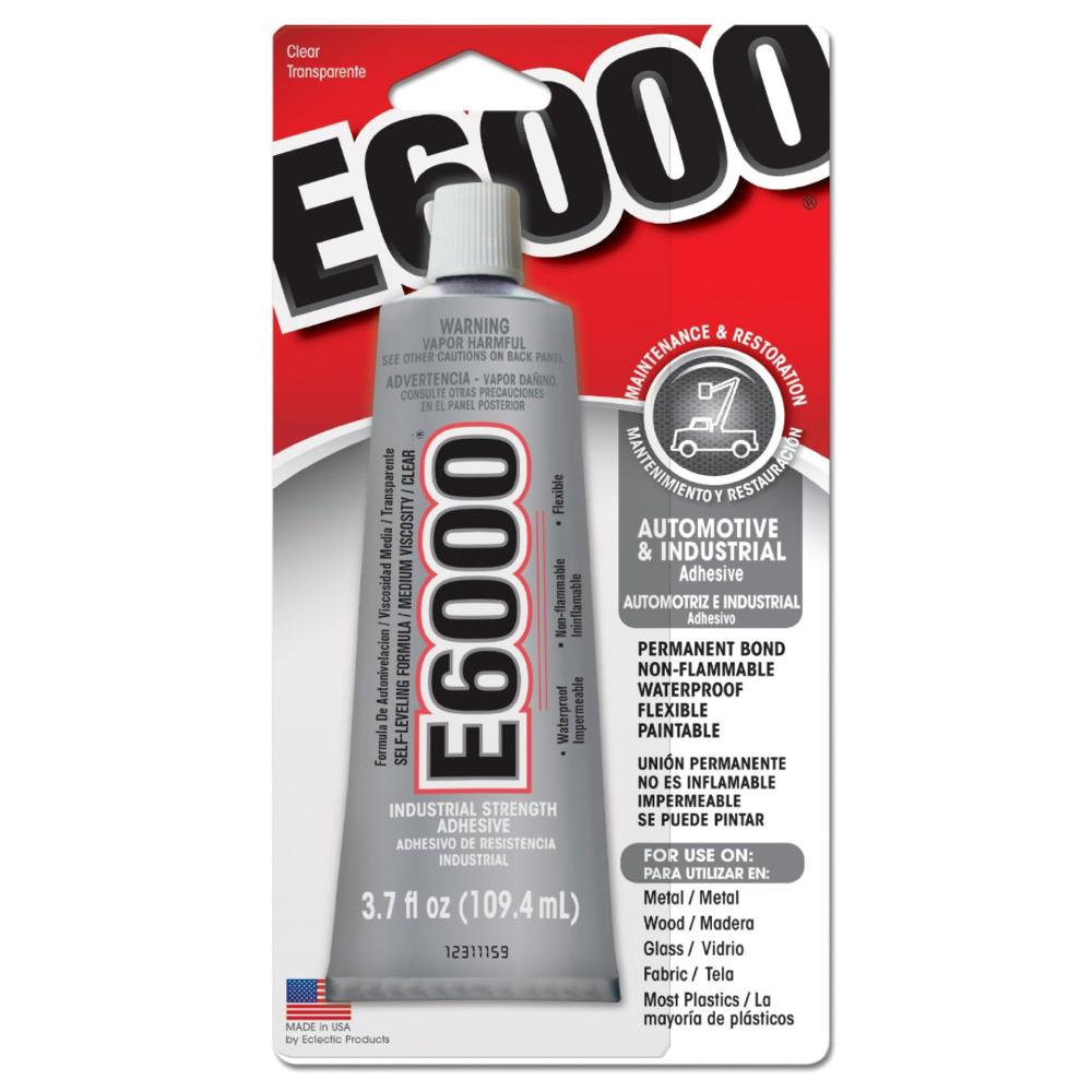 E6000 Industrial Strength Glue 4 Oz