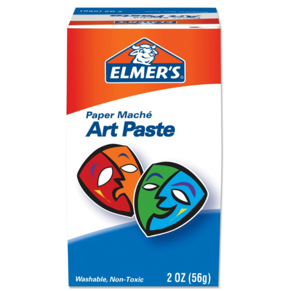 Elmers Papier Mache Art Paste 2 Oz