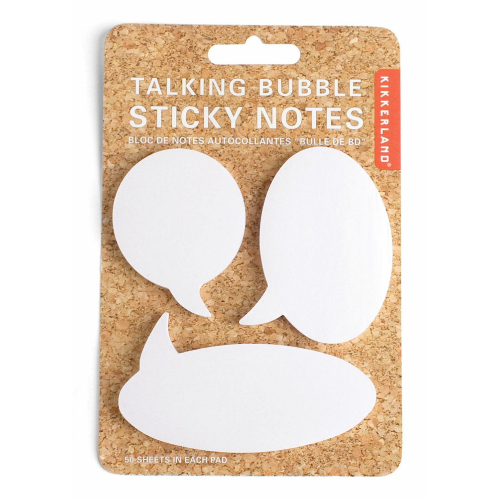 Sticky Notes: Talking Bubbles