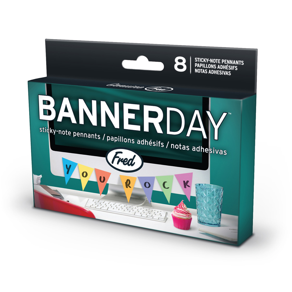 Fred Banner Day Sticky-Notes