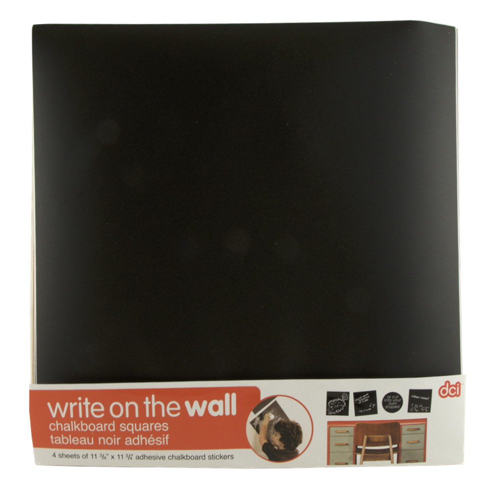 Dci Write On The Wall Chalkboard Squares
