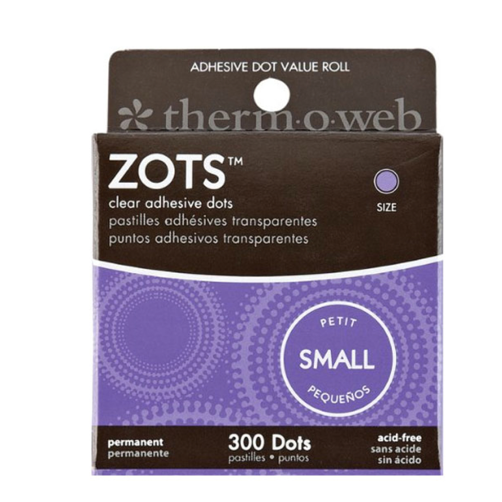 Zots Clear Memory Adhesive Dots #82 Small