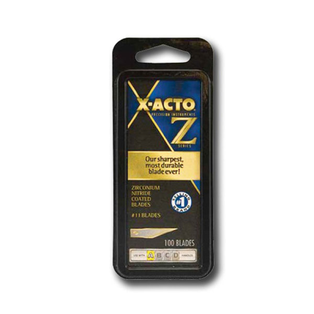 X-Acto XZ611 Z-Series Blade #11 100/Pack