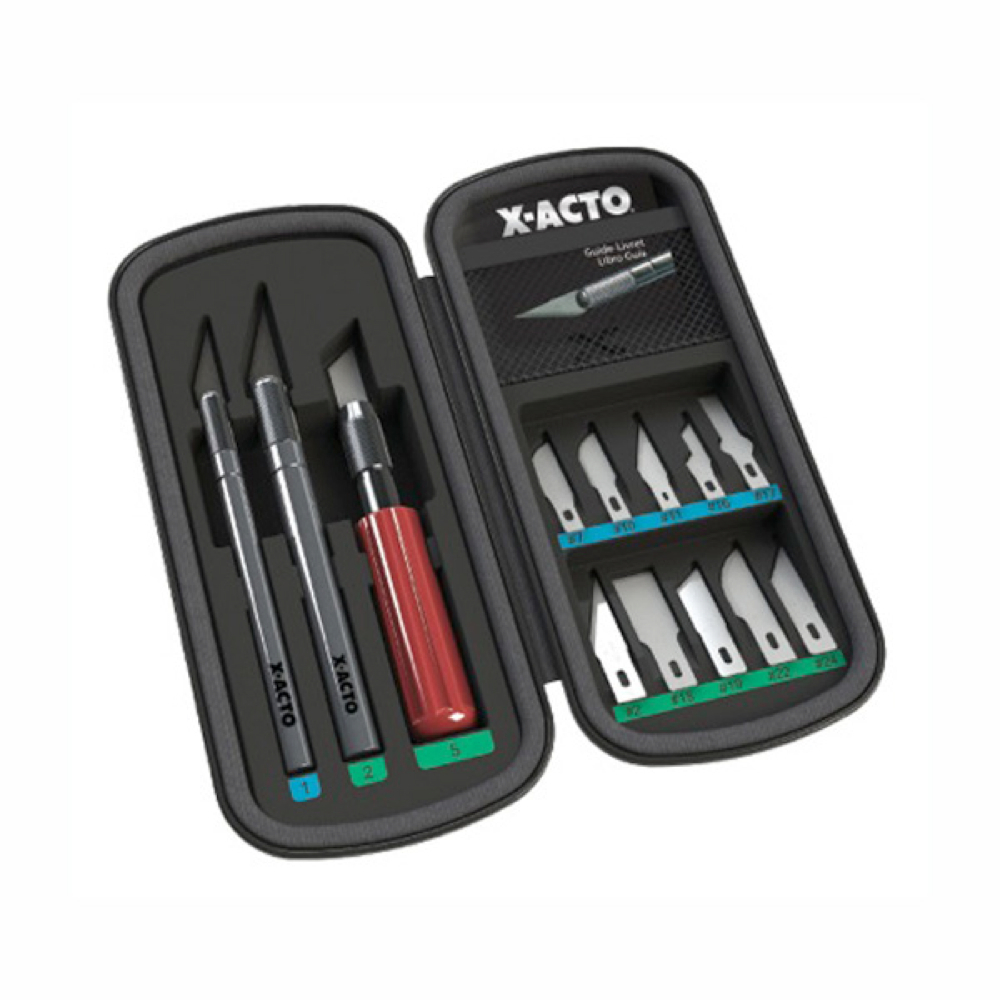 X-Acto Basic Knife Set In Compression Case