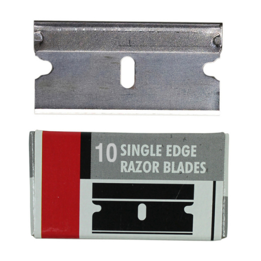Excel 20009 Single Edge Razor Blades Pk/10