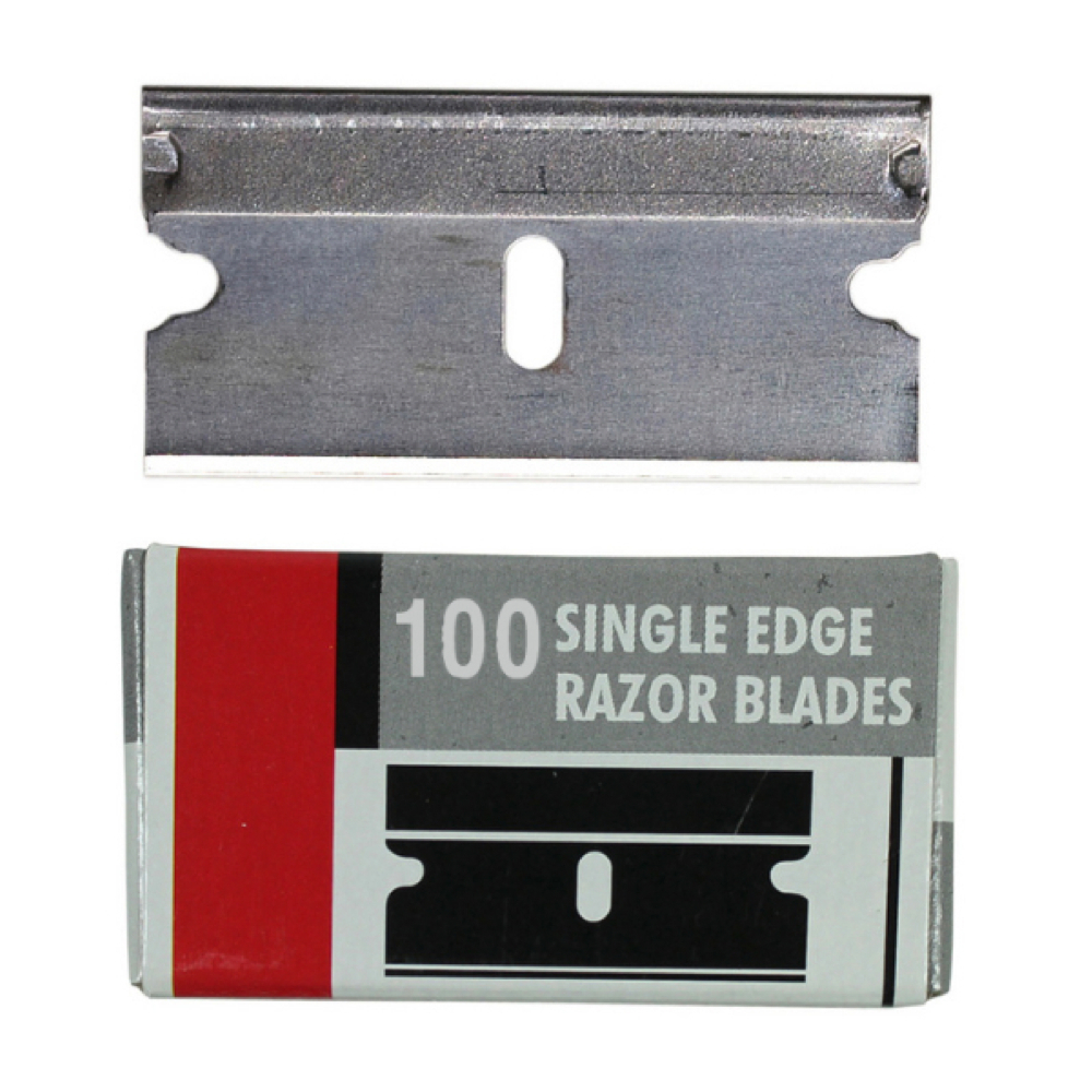 Excel 22609 Single Edge Razor Blades Pk/100