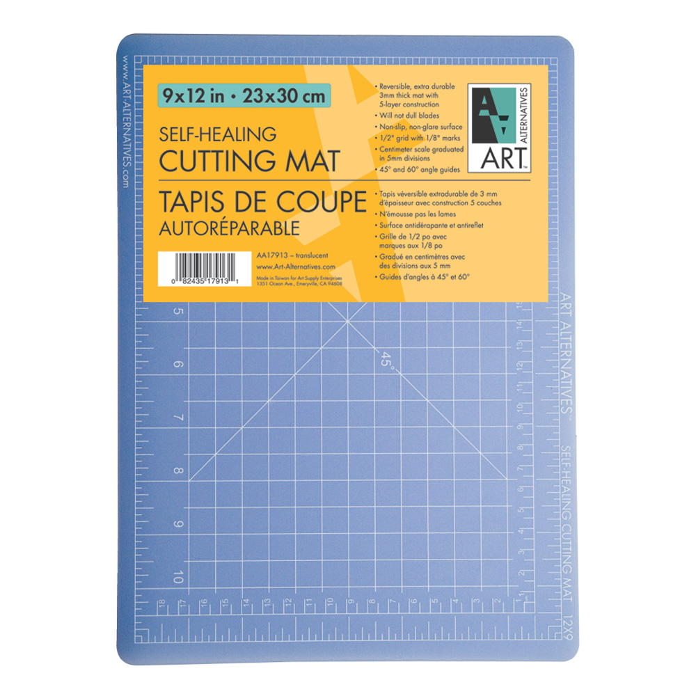 Art Alternatives Cutting Mat Translucent 9X12