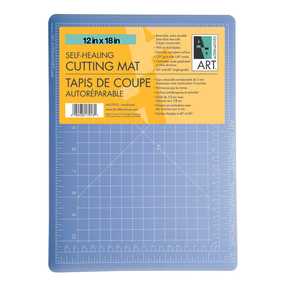 Cutting Mat Translucent 12X18
