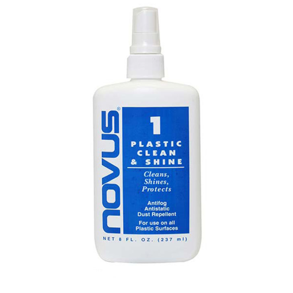 Novus Plastic Cleaner & Shiner 8 Oz Bottle