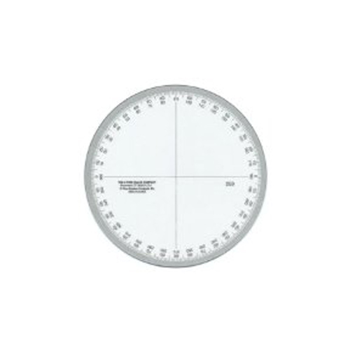 Circular Protractor 360 Degree 4 Inch