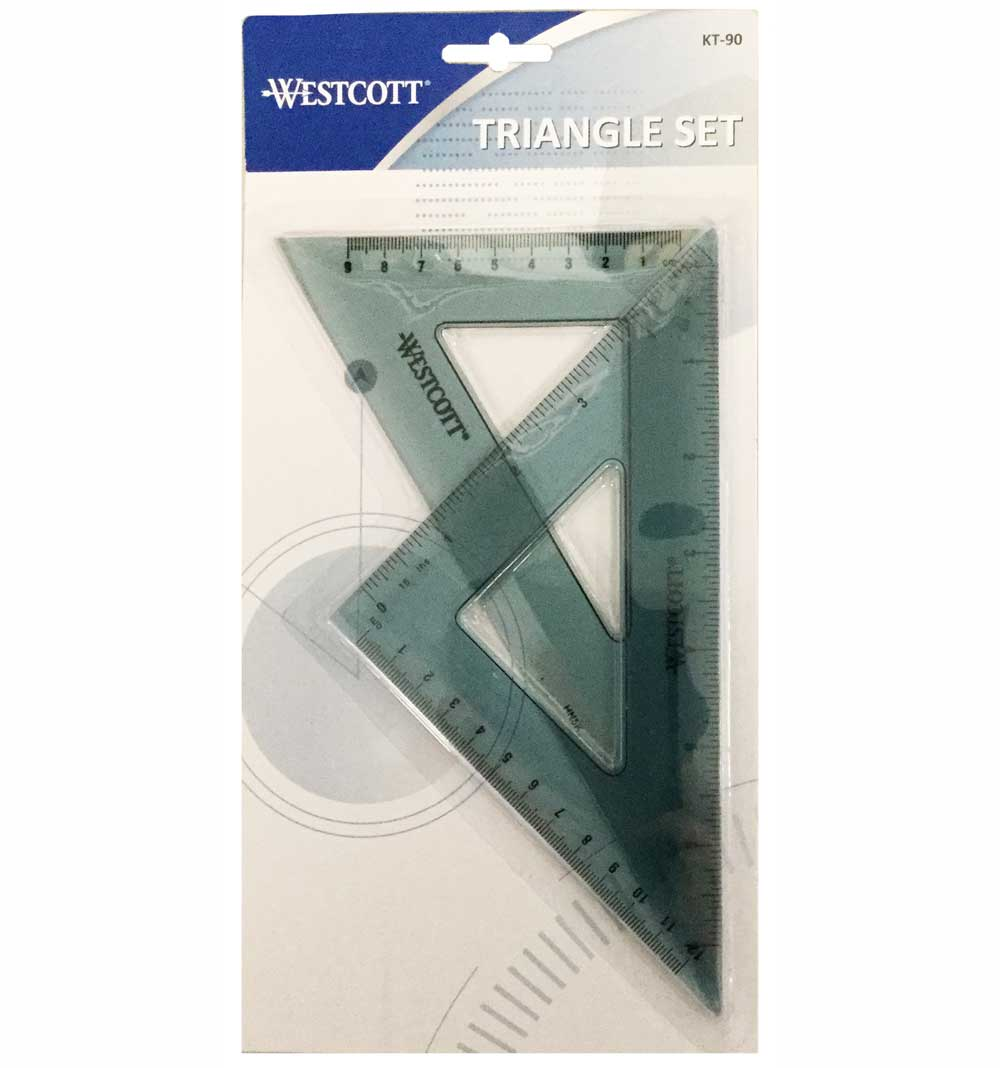 C-Thru Kt-90 Student Triangle Set Of 2