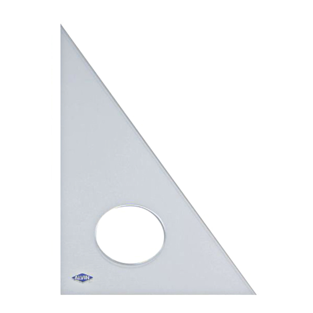 Alvin Professional 30/60/90 Triangle 6In