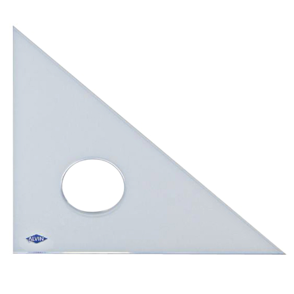 Alvin Professional 45/45/90 Triangle 10In