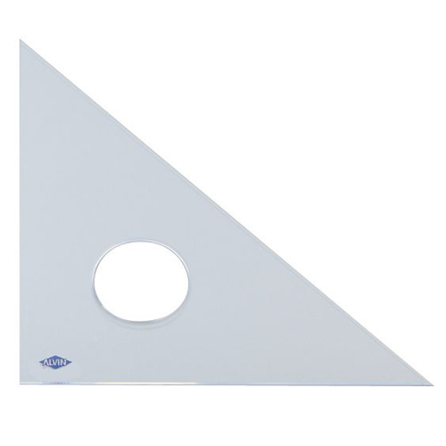 Alvin Professional 45/45/90 Triangle 8In