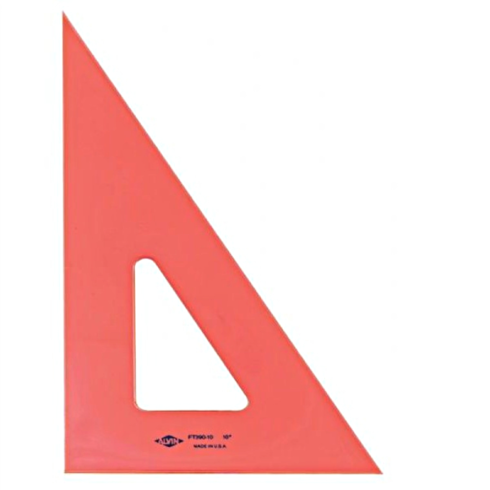 Alv Pro Fluorescent 30/60/90 Triangle 6 In