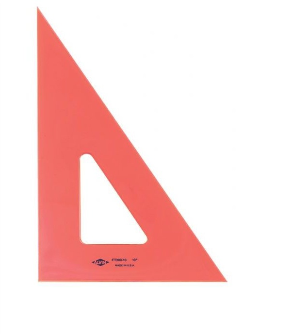 Alv Pro Fluorescent 30/60/90 Triangle 8 In