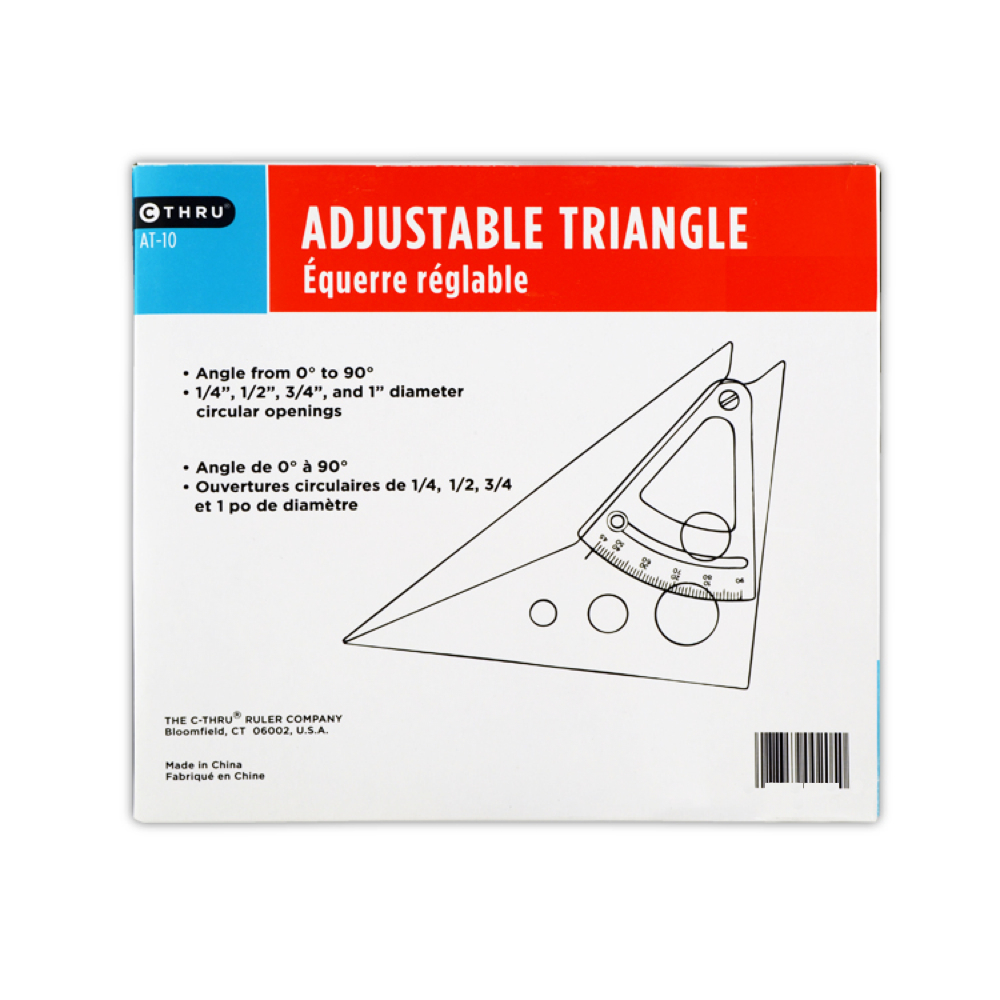 Scholastic Adjustable Triangle 8In