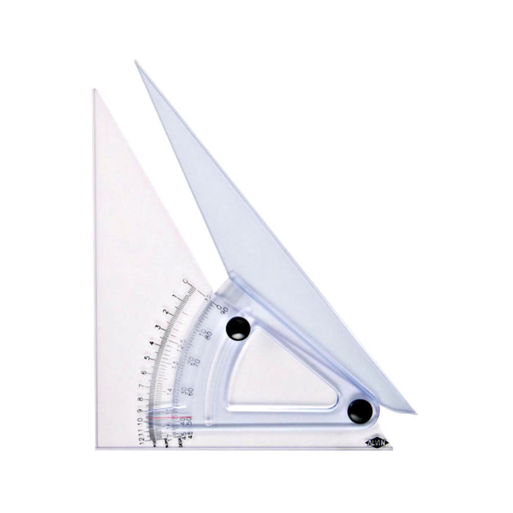 Professional Adjustable Triangle 12In
