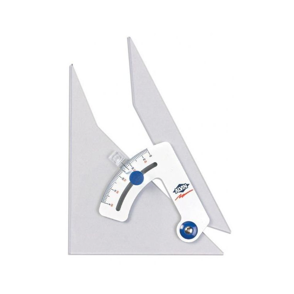 Alvin Tru-Angle Adjustable Triangle 12 Inches
