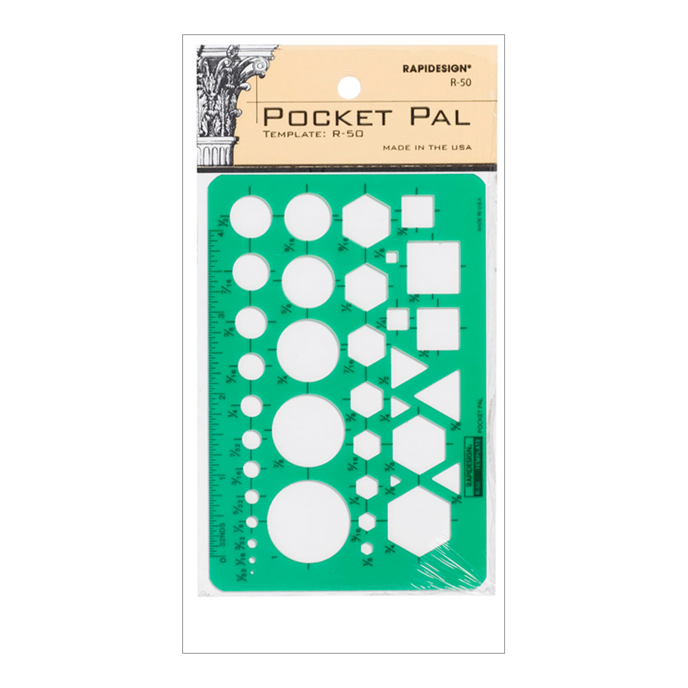 Rapidesign Template R-50 Pocket Pal
