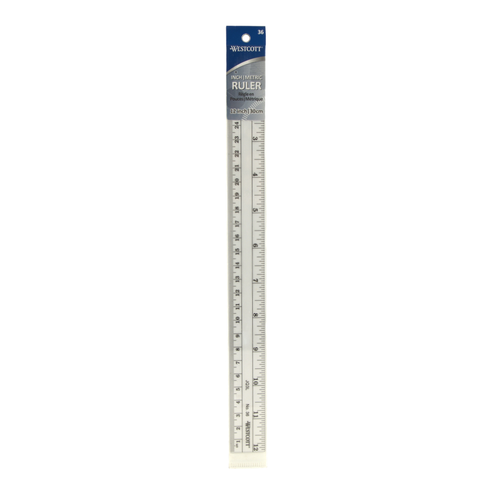 C-Thru No. 36 Metric Ruler 12 Inch / 30 Cm