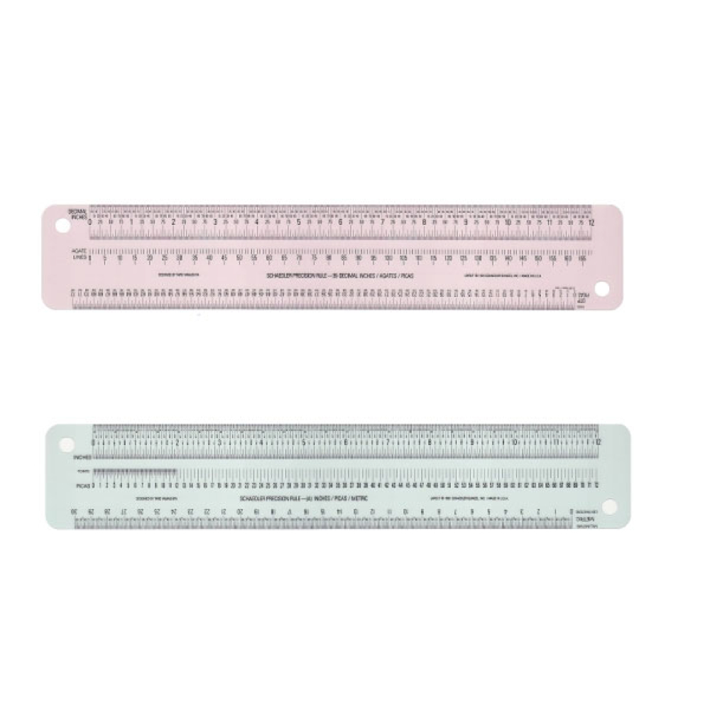 Schaedler Ruler 46-Dp Set Of 2