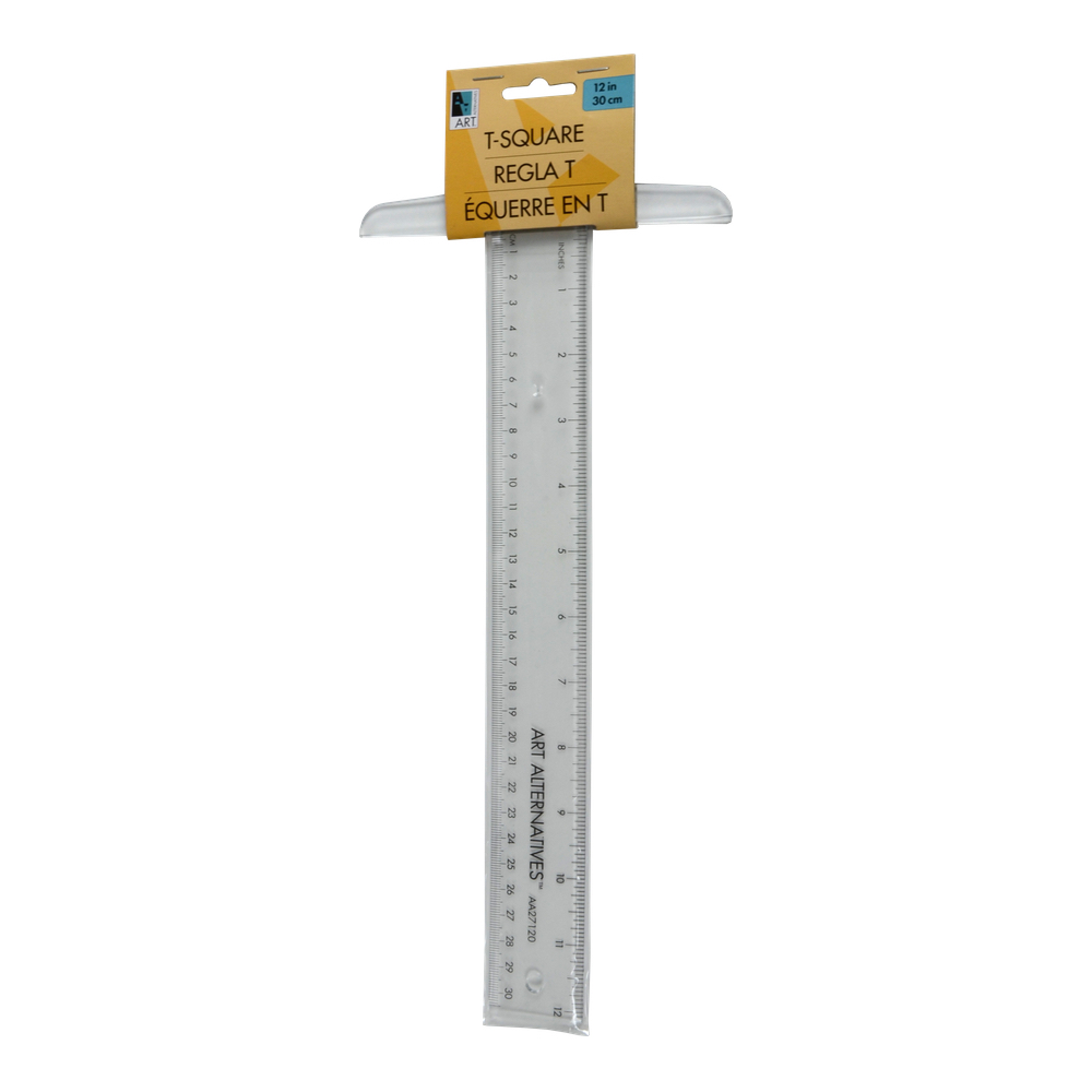 Plastic T-Square 12 Inches