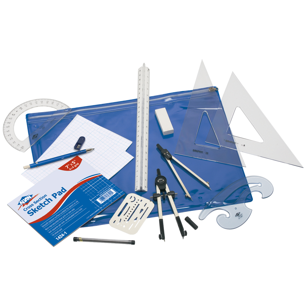 Alvin Engineers' Drafting Kit