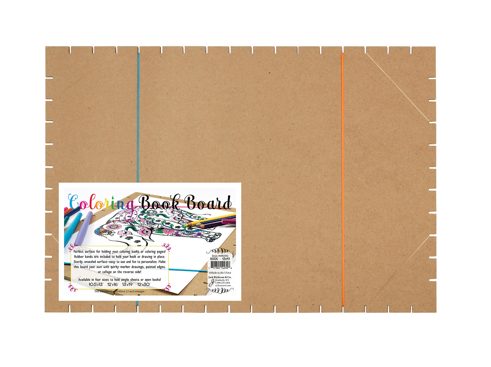 Coloring Book Board 13 X 19