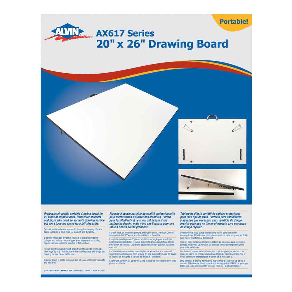 Tilt-Angle Ax617 Drawing Board 20X26