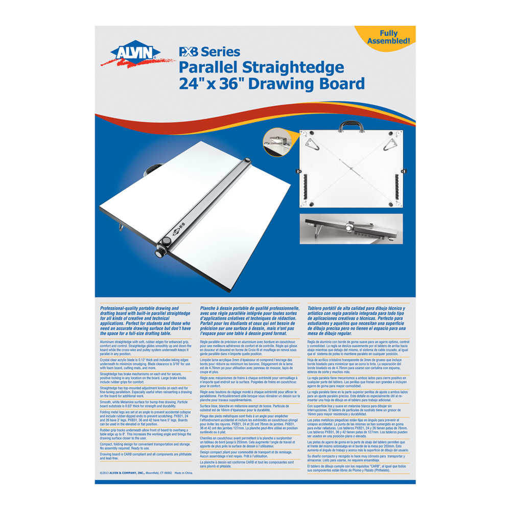 Parallel Straight Edge Kit 24X36 *OS1