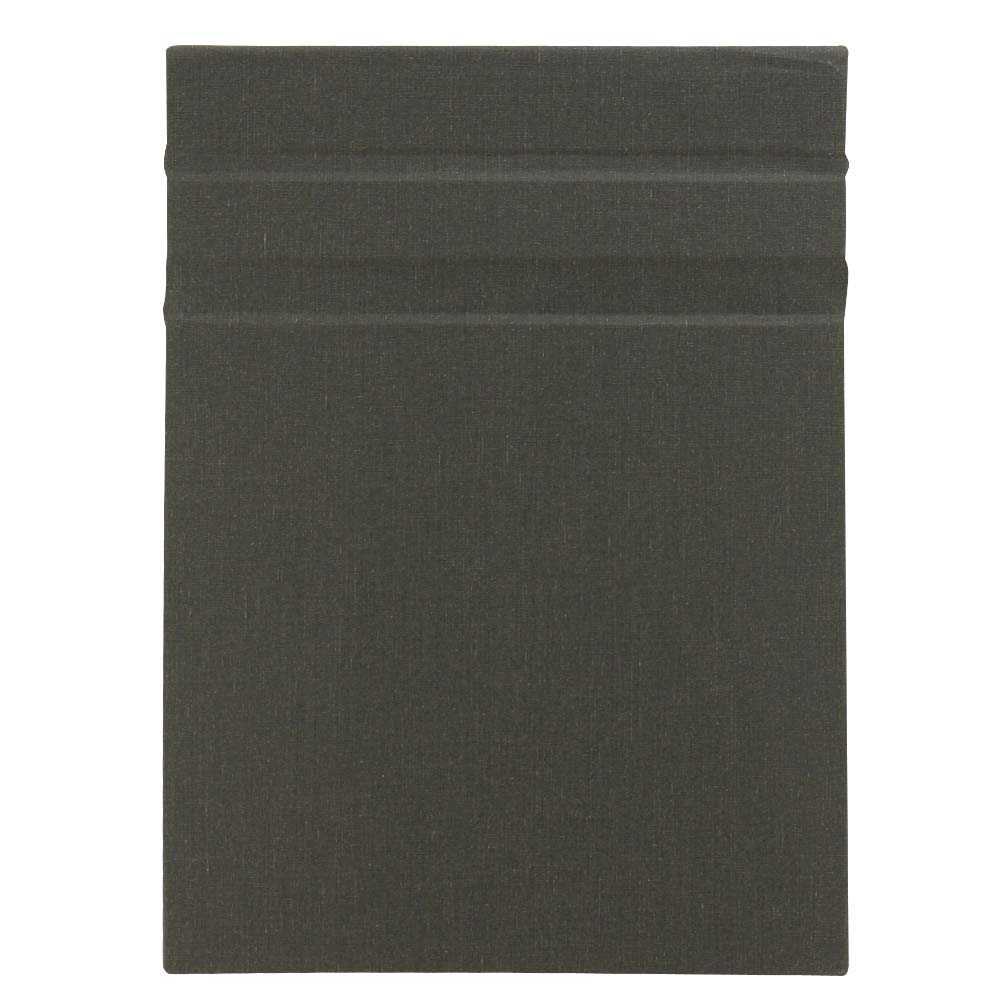 Clipbook Magnetic Clipboard Charcoal 9X12In