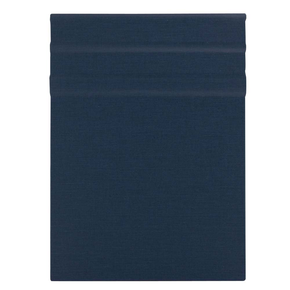Clipbook Magnetic Clipboard Linen Navy 9X12