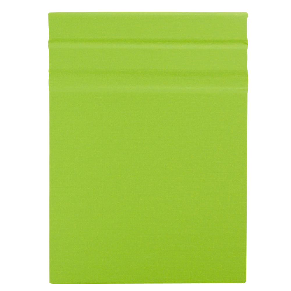 Clipbook Magnetic Clipboard Linen Lime 9X12