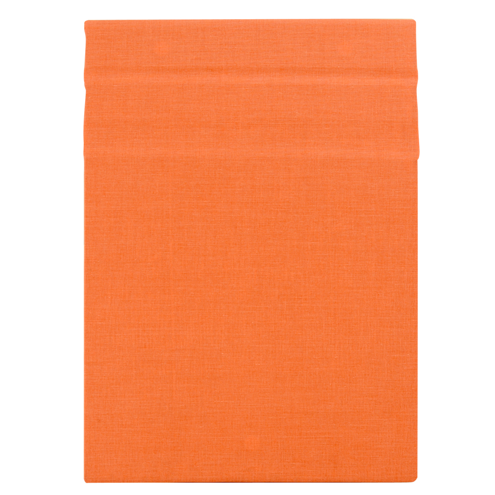 Clipbook Magnetic Clipboard Linen Coral 9X12
