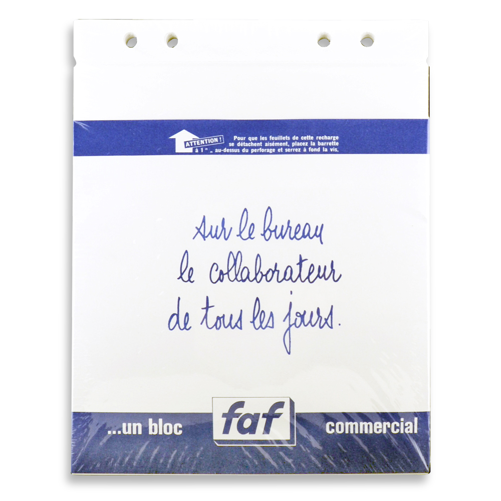 Exacompta Faf Desk Refill Pad Only No.5 Blank