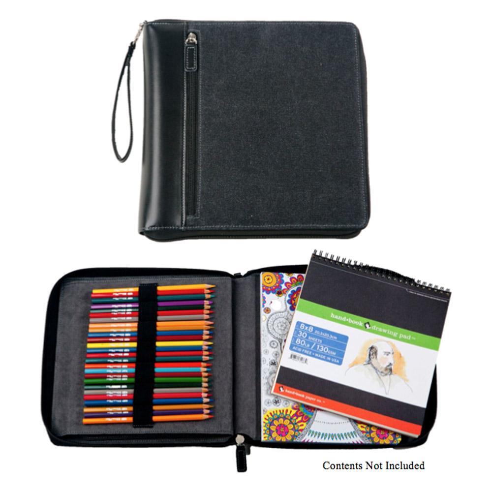 Global Art Color/Sketch Book Case Black