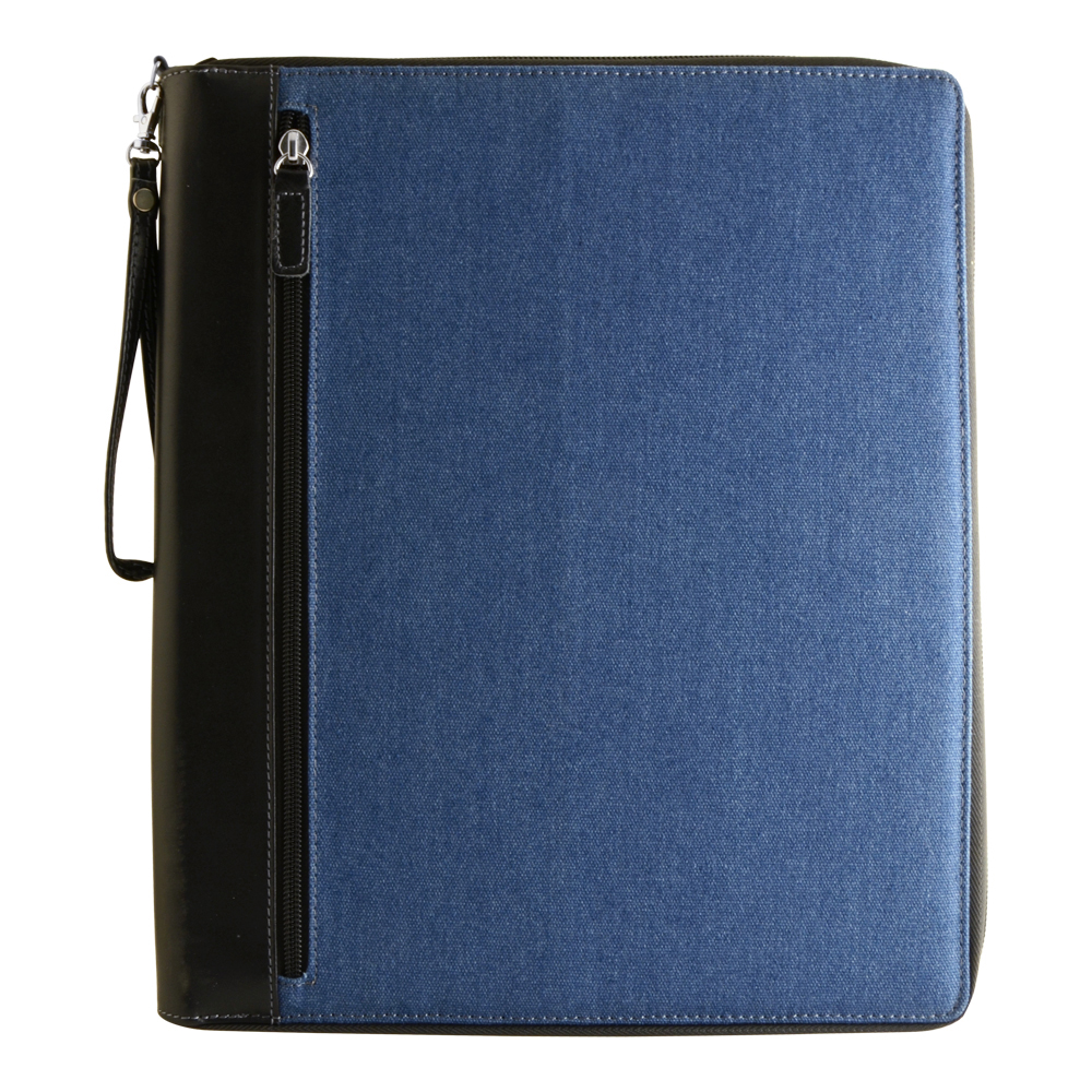 Global Art Color/Sketch Book Case Lg Denim