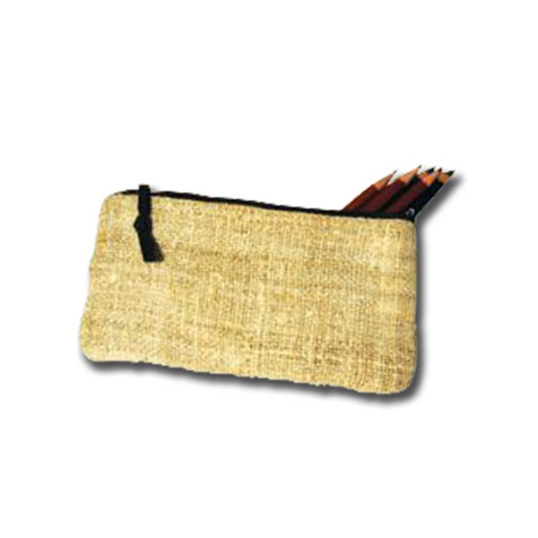 Lama Li Hemp Pencil Bag 4X8 Inches