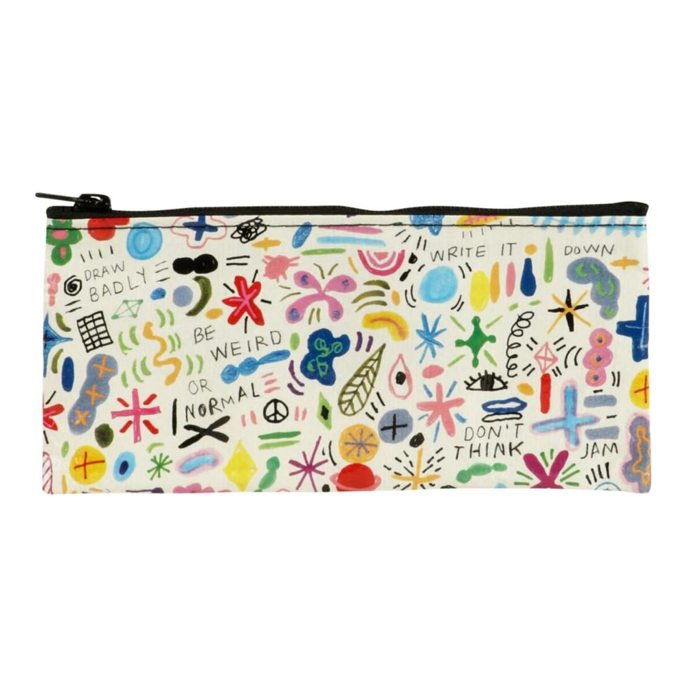 Blue Q Pencil Case Birds