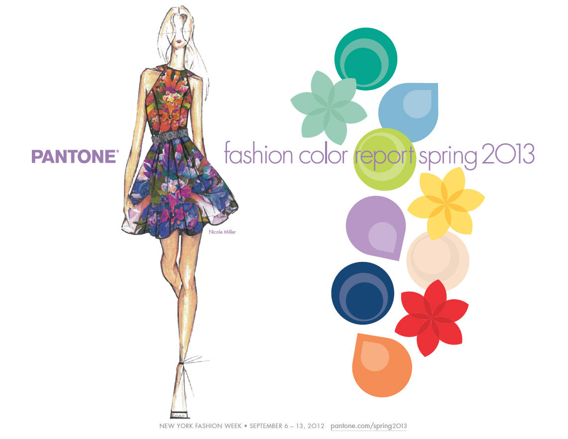 Pantone Spring 13 Fashion Color Report
