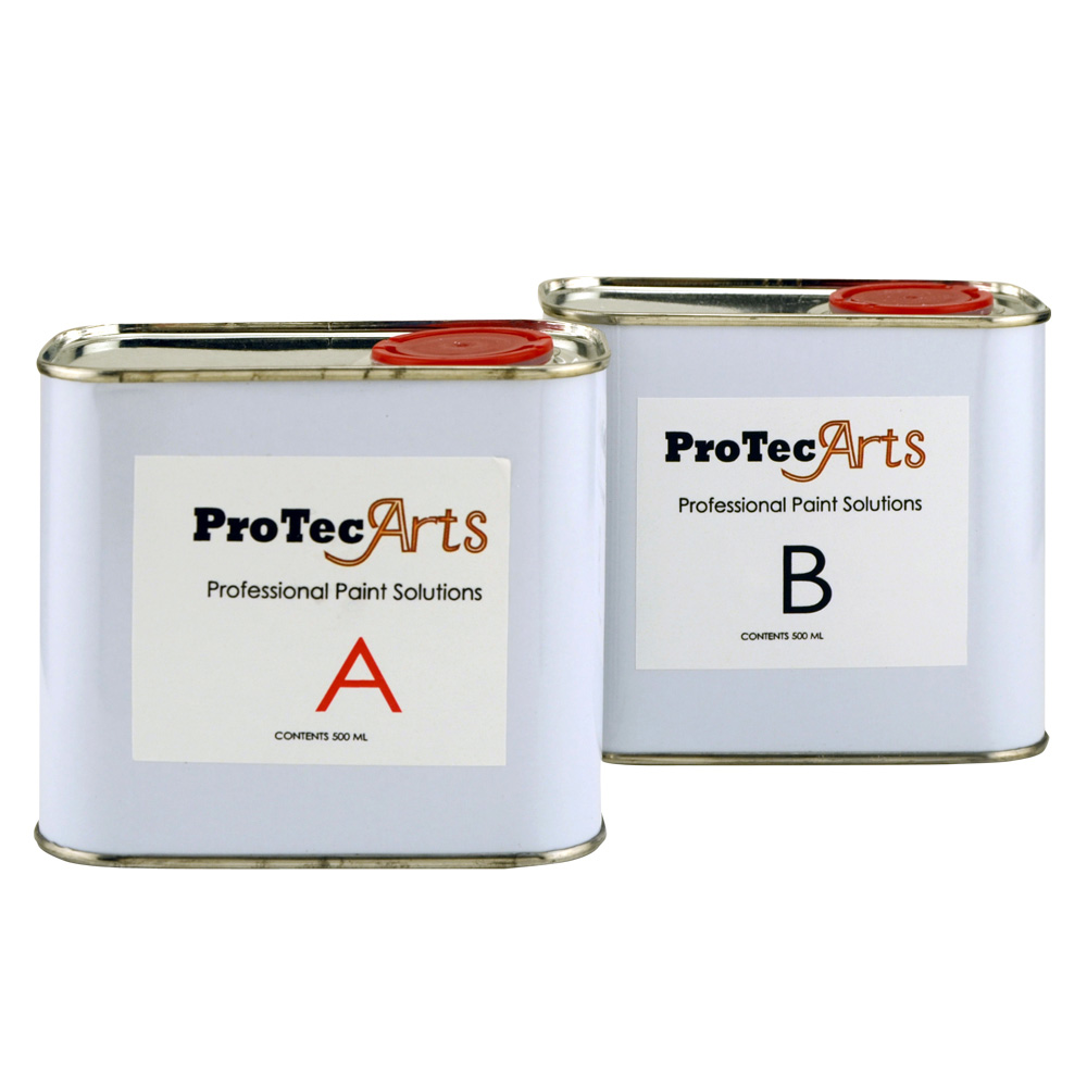 Protec Arts Solution A & B 500Ml Each*Disc*