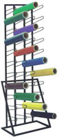 44 Roll Vinyl Storage Floor Rack