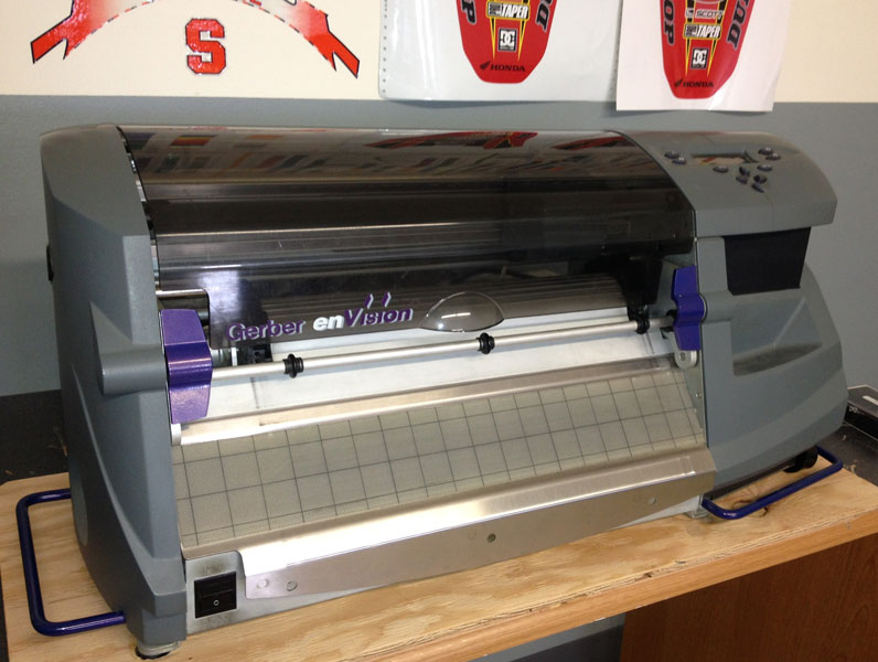 Used Gerber Envision 375 Plotter-No Warranty