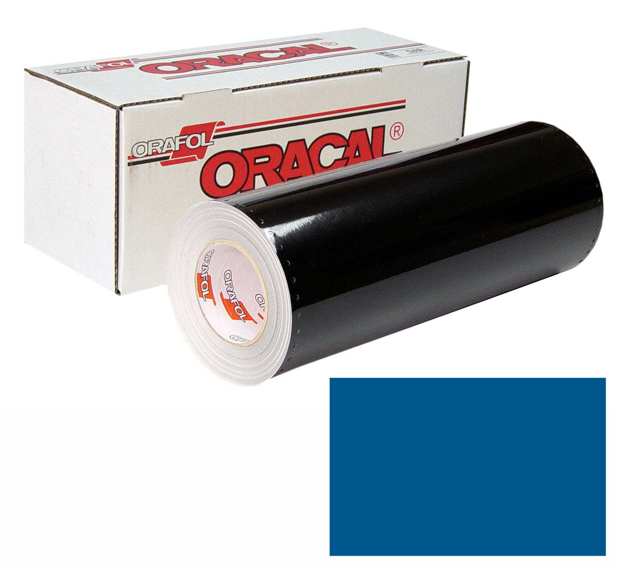ORACAL 641 15In X 50Yd 057 Traffic Blue