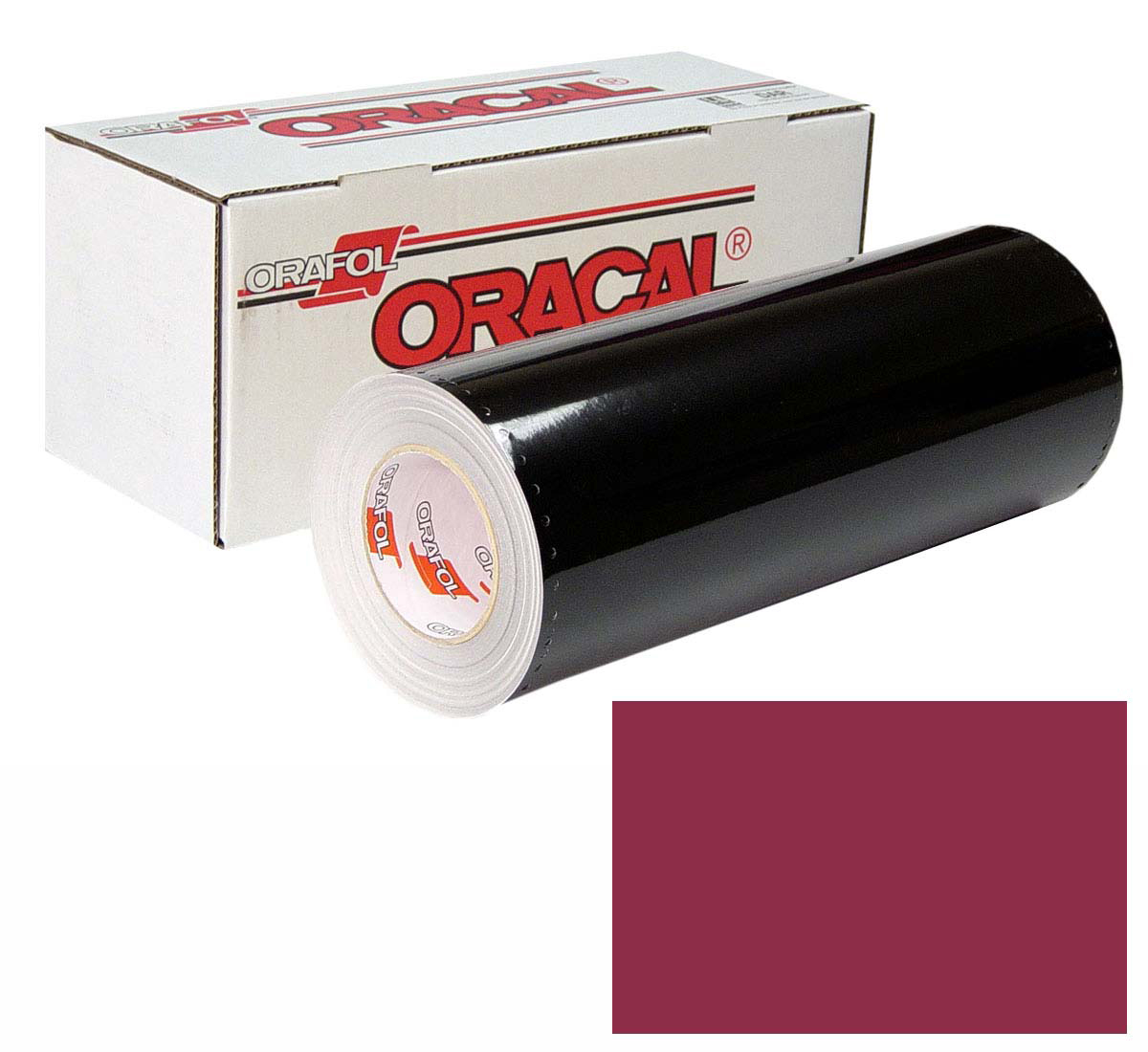 ORACAL 641 Unp 24in X 50yd 312 Burgundy