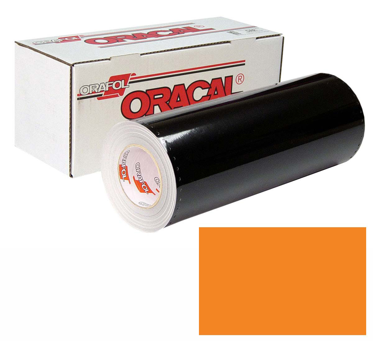 ORACAL 641 Unp 24in X 50yd 035 Pastel Orange