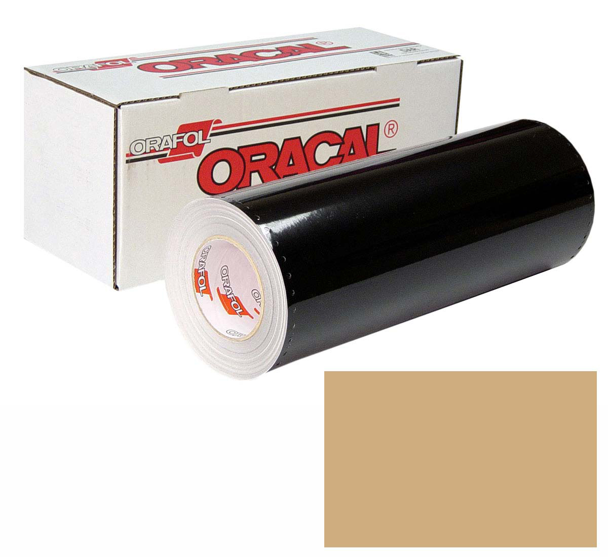 ORACAL 641 Unp 24In X 50Yd 081 Light Brown