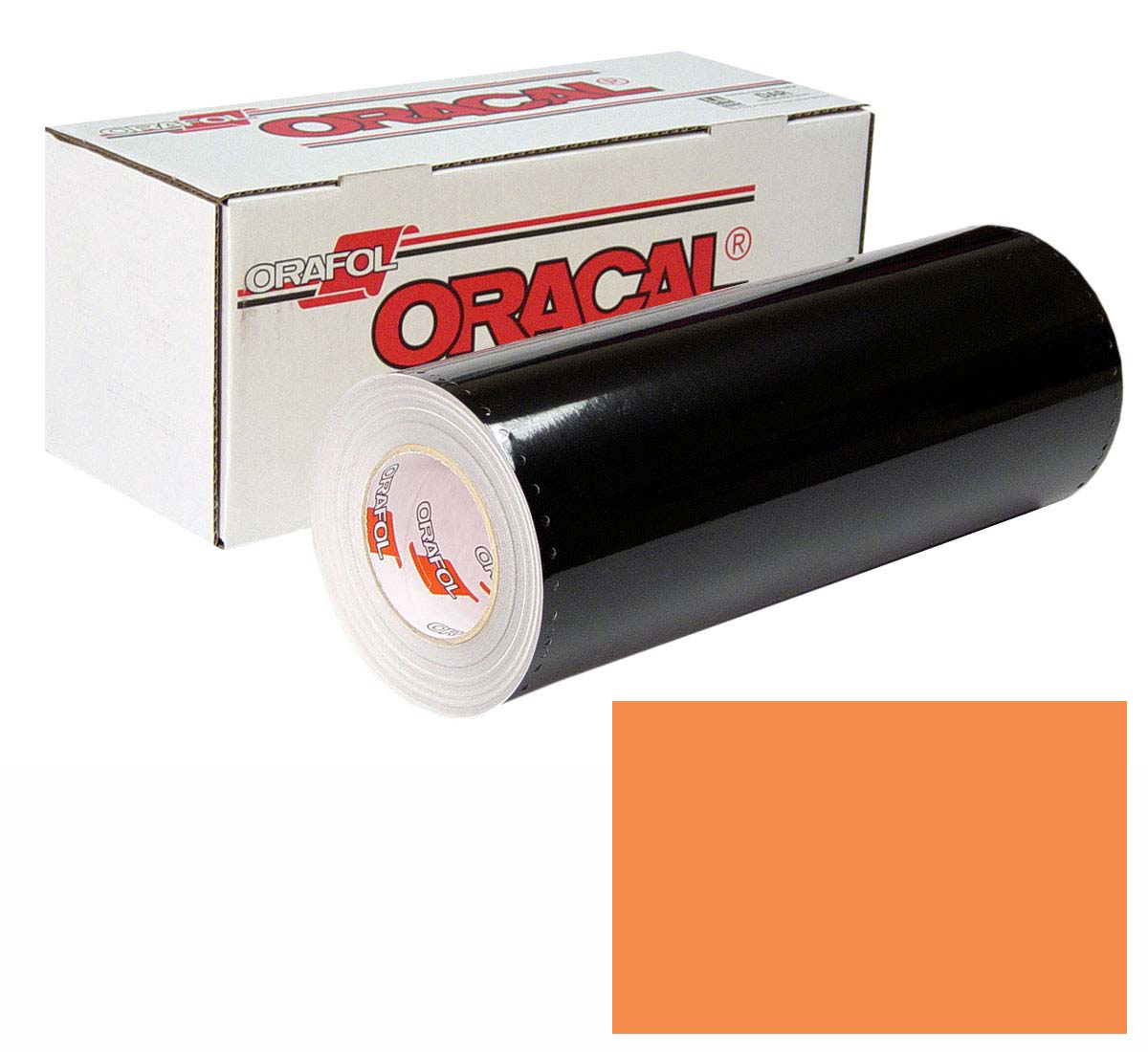 ORACAL 641 30in X 50yd 036 Light Orange