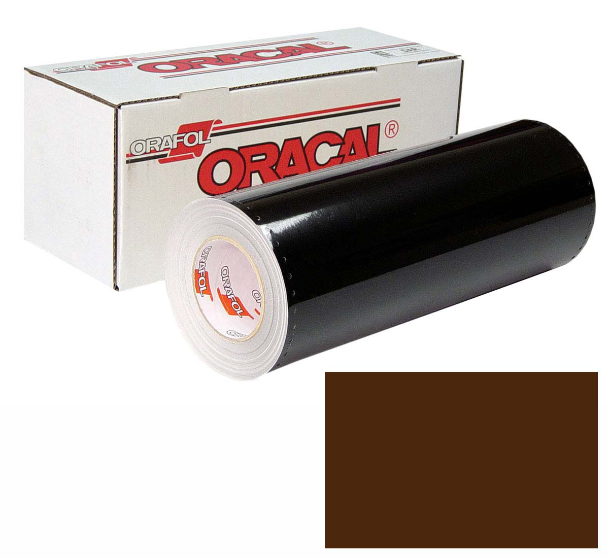 ORACAL 641 Unp 48in X 50yd 080 Brown